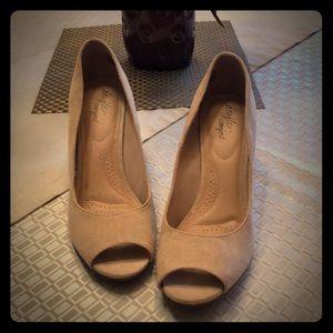 Dexflex Comfort Open Toe heels .... Size 11